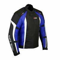 New Mens Motorcycle Jacket Waterproof Armour Winter Thermal Motorbike Jackets UK