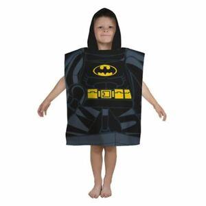 Official Lego DC Super Heroes Poncho Batman Towels *NEW*
