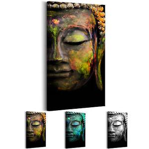 BUDDHA STATUE ZEN BUDDHISMUS Wandbilder xxl Bilder Vlies Leinwand p-B-0018-b-b