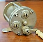 Ca. 1880's B.C. Milam Frankfort KY. No. 3 casting reel 6 o'clock half handle