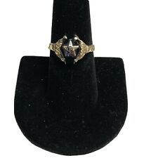 Vintage Masonic Ring - Eastern Star - 10k