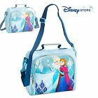 NEW Disney Store Frozen Elsa Anna School Lunch Box Tote Insulated Bag Lunch Pail