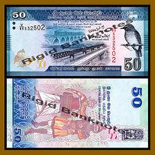 Sri Lanka 50 Rupees, 2010 P-124 Unc