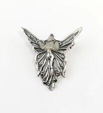 925er Silber Jugendstil Brosche Schmetterlingsfrau 9901020