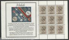 (RM4) gb QEII timbres. la monnaie royale prestige booklet pane ex DX4 1983