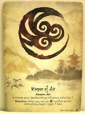 Legend of the five rings LCG - 1x #214 Keeper of Air/Seeker of Air-Base Set