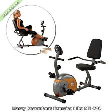 Marcy Recumbent Exercise Bike ME-709 Home Gym Bikes Workout Equipment for Women