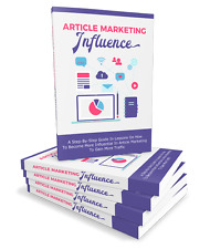 How To Become More Of An Influence In Article Marketing-eBook and Bonuses on CD