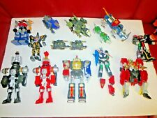 Bandai Power Rangers lot of 16 Figures and Vehicles used