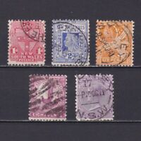 NEW SOUTH WALES AUSTALIA 1905, SG# 334-346, Used