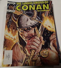 SAVAGE SWORD of CONAN the Barbarian Vol. 1 #137 Marvel Magazine Group June 1987