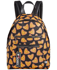 "Circus by Sam Edelman Black Canvas ""Pizza"" Backpack #NOT SORRY"