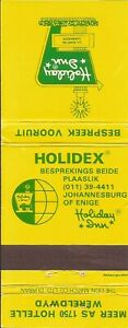 South Africa Matchbook Cover-Holiday Inn-0275-05