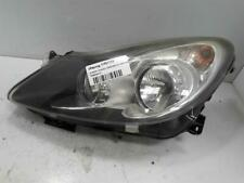 HEADLIGHT VAUXHALL CORSA MK3 (D) (4400) 2006 TO 2014 PASSENGER Headlamp WARRANTY