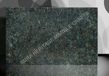 4'x2' Marble Labradorite gold Labradorit Backlit Hallway Table Top Decor E214