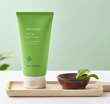 Innisfree Green Tea Foam Cleanser 2019 New Ver Cleansing Korea 150ml 0.57oz