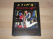STING 2 CD DVD BOX - Bring On The Night / EU PRESS in NEU SEALED
