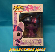 My Little Pony Twilight Sparkle Glitter Pop Vinyl Figure Funko MLP