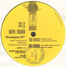 RALPHI ROSARIO - Quentagious EP - 1992 - DJ WORLD - DJW 110 - Usa