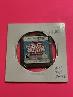 🔥 Nintendo DS NOT FOR RESALE - 💯 AUTHENTIC GAME NFR - BIG BRAIN ACADEMY 🔥