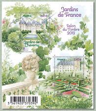 Feuillet F4580 - Le salon du timbre 2012 - Jardins Cheverny & Villandry - 2011