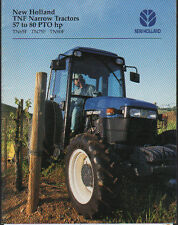 "New Holland 57 to 80hp ""TNF"" Narrow Tractor Brochure"