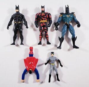 90s Batman DC Action Figures - LOT OF 5 - Batman Superman Cat Woman Vintage VTG