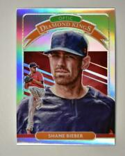 2020 Donruss Optic Diamond Kings Holo #18 Shane Bieber - Cleveland Indians