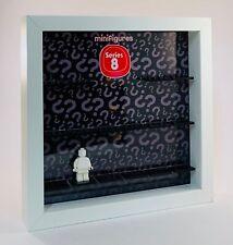 Minifigure Display Frame case Lego Series 8 8833 mini figures invisible range
