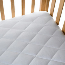 COT BED MATTRESS Quilted Baby Waterproof Breathable Extra Thick 140 X 70 X 13CM