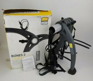 Saris Bones 2-Bike Trunk Rack Used Once In Box w/Instructions Car Holder Carrier