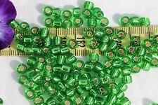 3/0 Toho Seed Beads 22-Silver Lined Peridot 28 grams # 27