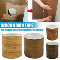 4.5M/Roll Realistic Woodgrain Repair Adhensive Duct Tape For Home Furniture Deco