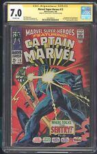 MARVEL SUPER-HEROES 13 CGC 7.0 3/68 SS STAN LEE 1ST APP OF CAROL DANVERS