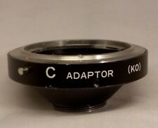 Konica AR Lens to C Mount Body Adapter