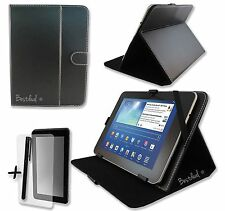 Black PU Leather Case Stand for AcGoSp Colorfly E708 Q1 7'' inch Tablet PC