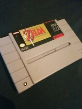 The Legend of Zelda: A Link to the Past SNES Super Nintendo Authentic CLEANED