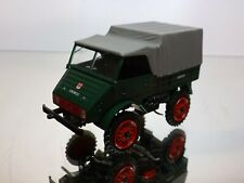 SCHUCO MERCEDES BENZ UNIMOG 401 - GREEN 1:43 - VERY GOOD CONDITION