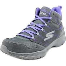 Zapatillas deportivas de mujer gris Skechers ante