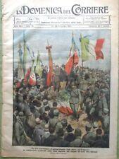 La Domenica del Corriere 26 Settembre 1920 Terremoto Fivizzano Alpini Ortigara
