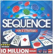 Sequence Spiel Kartenspiel Strategiespiel Taktikspiel Gesellschaftsspiel NEU