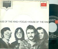 """FOCUS - HOUSE OF THE KING (DUTCH IMPERIAL 5C006-24250) 7""""PS   1971"""