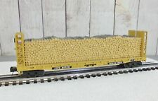 LIONEL - MTH / TTX TRAILER TRAIN PULPWOOD FLAT CAR with LOAD