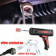 Magnetic Induction Heater Tool Coil Kit Bolt Remover Flameless Heat 220V EU Plug