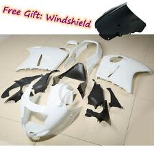 Unpainted White ABS Fairing Bodywork Kit For Honda CBR1100XX Blackbird 1996-2007