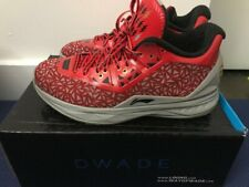 Li Ning Way of Wade 4 Lucky 13 Size 9 WOW 4 Dwyane Red Gold