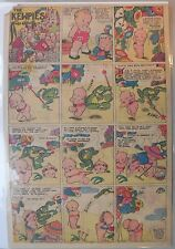 The Kewpies by Rose O'Neill from 3/16/1935 Tabloid Page