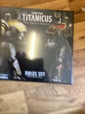 Adeptus Titanicus The Horus Heresy Rules Set ( New sealed )