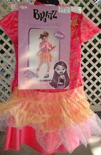 Bratz Tokyo Go-Go Costume 7-10 Dress Cape Purse Gloves Girls New Oriental 5pc