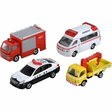 Takara Tomy Tomica Gift Emergency Vehicle Set 5 4X 7CM Diecast Toy Car Japan